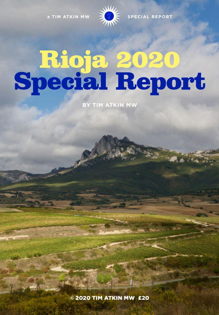 Rioja 2020 report by Tim Atkin